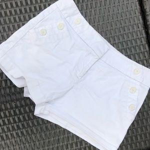Ann Taylor LOFT white shorts